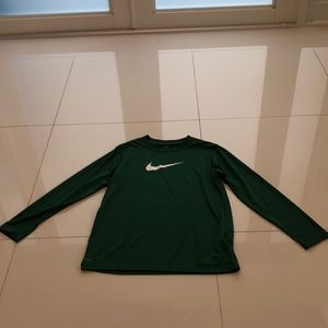 Kids Nike Dri-Fit Long Sleeve Shirt